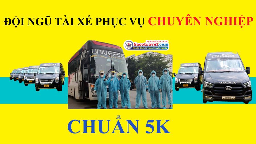 Đội ngũ tài xế chuyên nghiệp chuẩn 5k