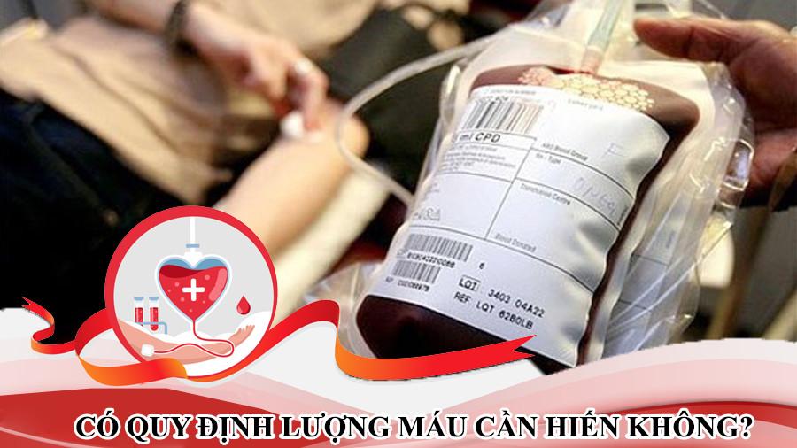 lương máu cần hiến