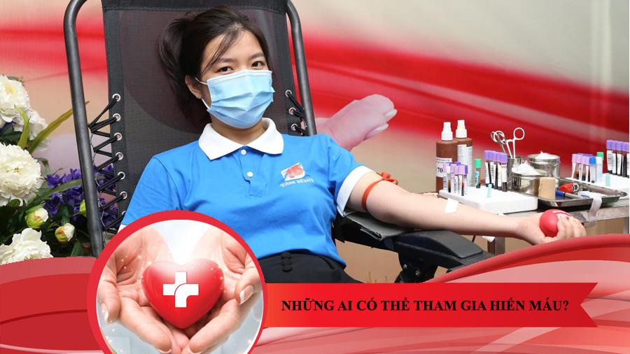 những ai có thể hiến máu